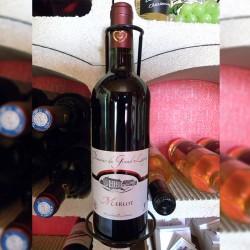 Vin rouge merlot 2018 - 75 cl